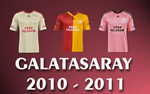 GALATASARAY'IN 2010-2011 FORMALARI